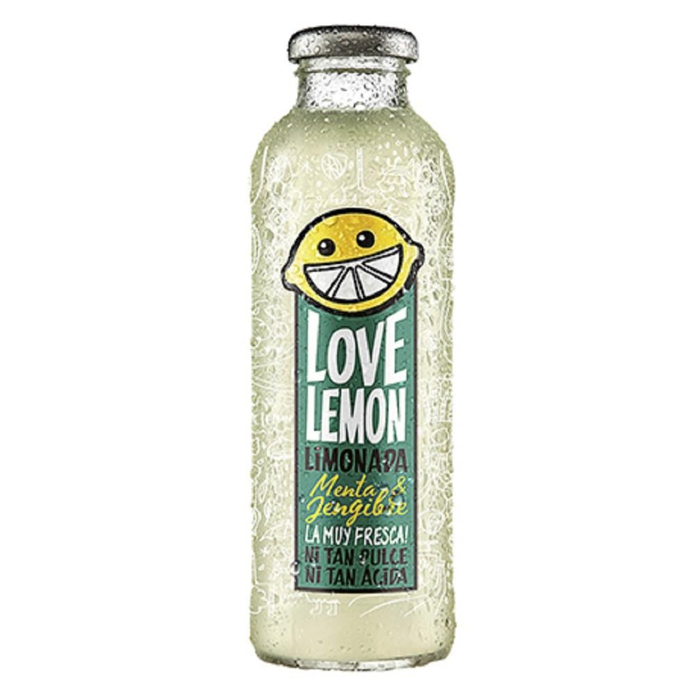 Limonada menta jengibre