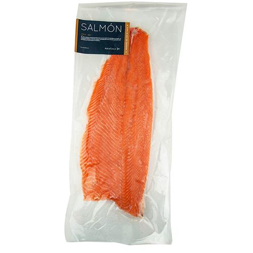 Filete de Salmón Atlántico sin piel Congelado sellado al Vacío -1,0 kg-  aprox.