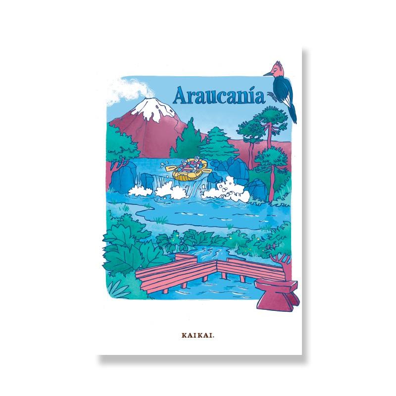 Postal Araucanía Postal: 10 x 15 cm