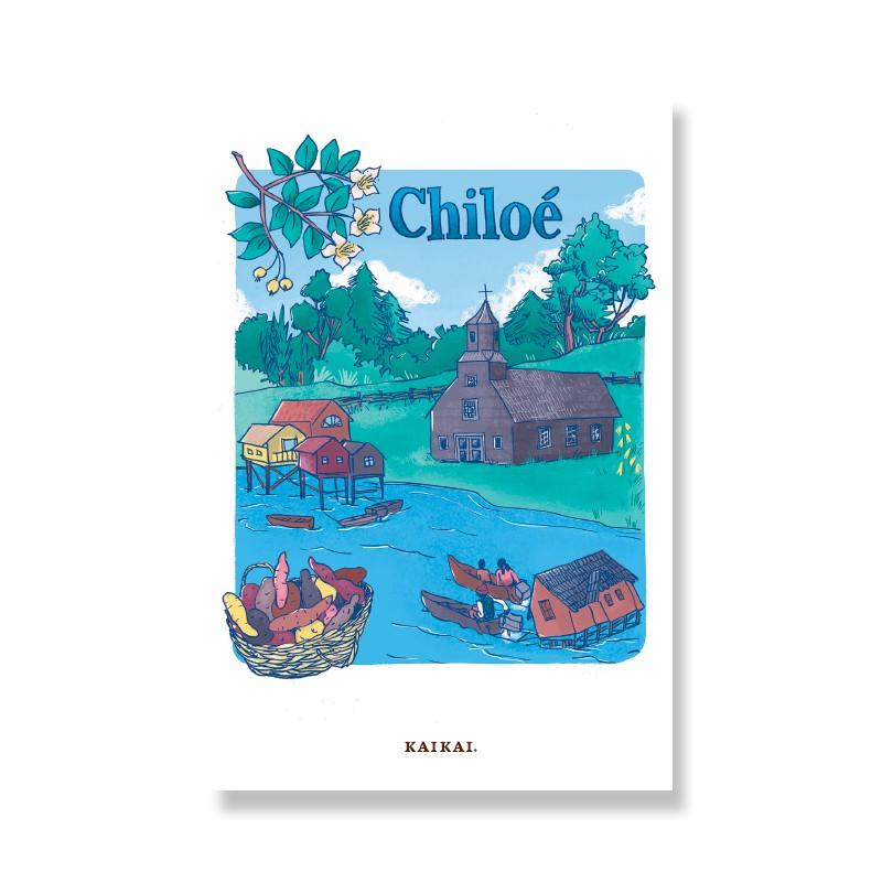 Postal Chiloé Postal: 10 x 15 cm