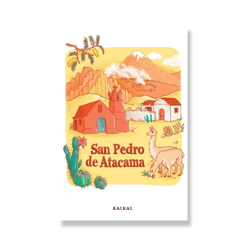 Postal San Pedro Postal: 10 x 15 cm