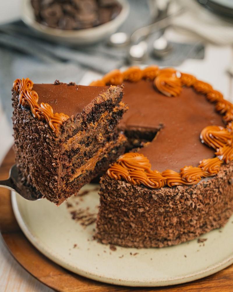 Chocolate manjar 12 personas