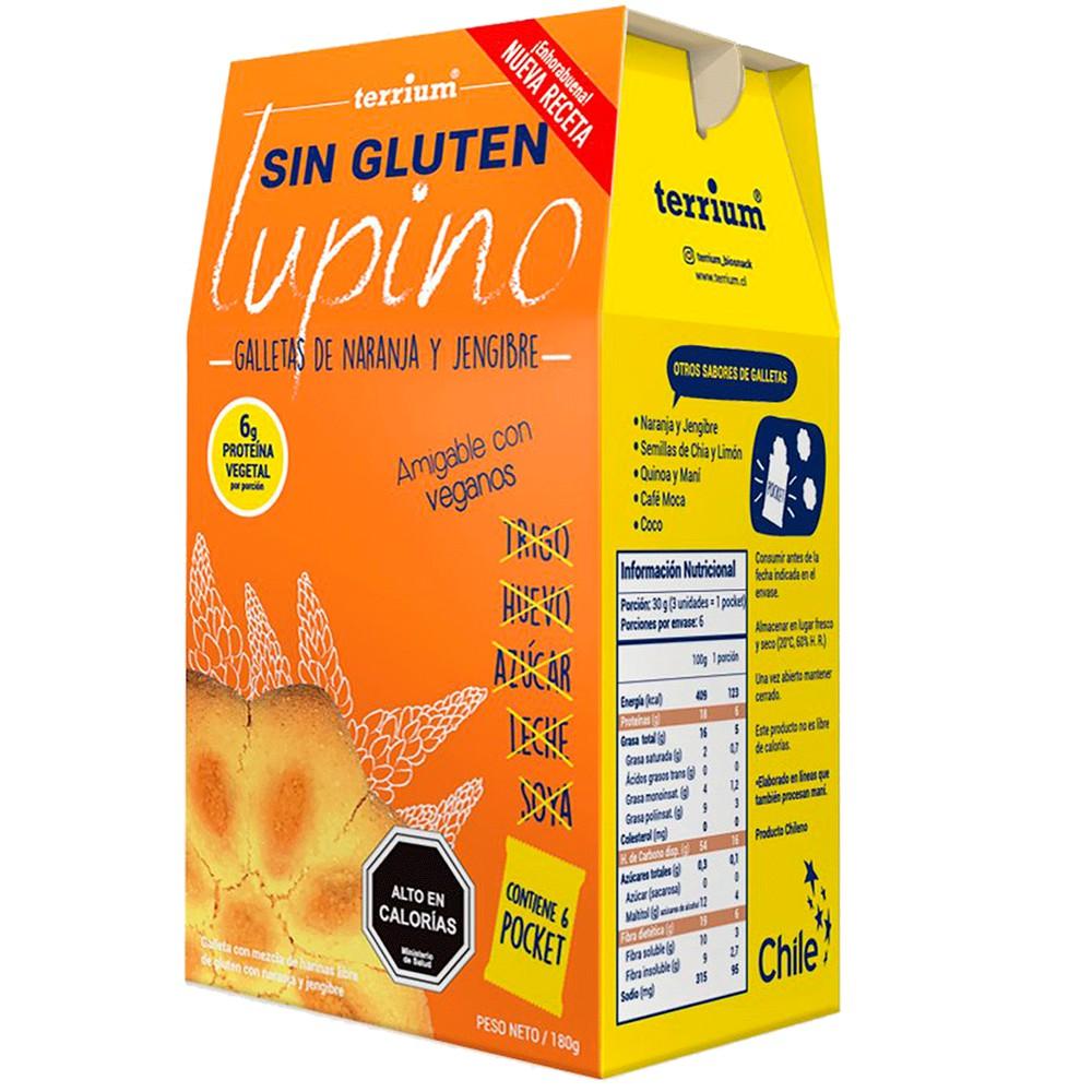 Galletas 0% azúcar naranja jengibre