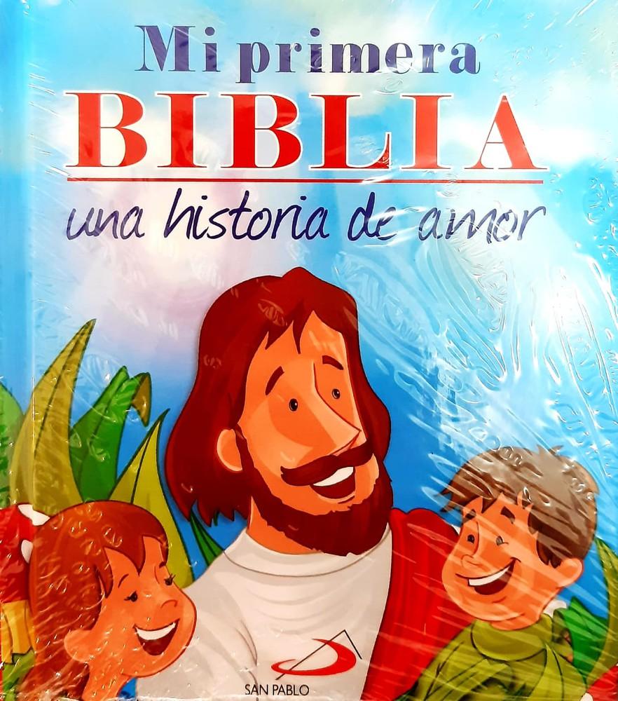 Mi Primera Biblia Una Historia De Amor Books And Gifts