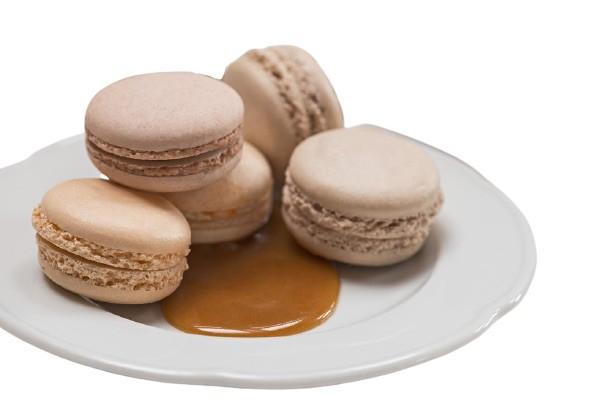 Macaron mediano caramelo 1 un