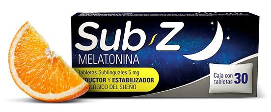 Tabletas sublinguales Sub Z melatonina