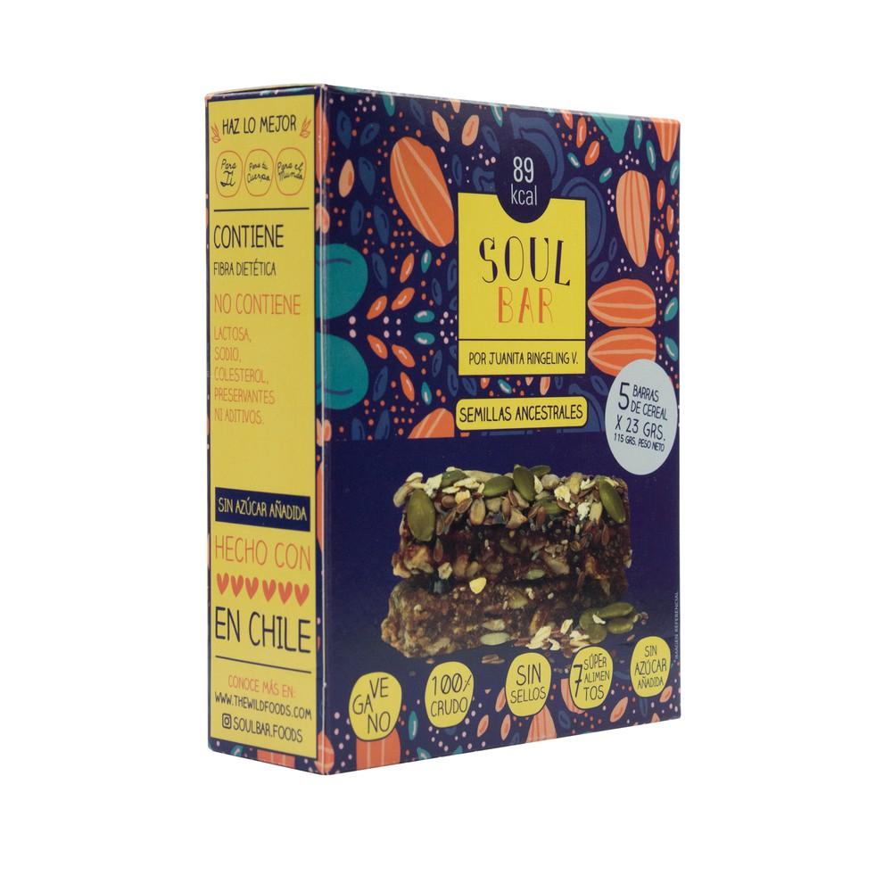 Barra cereal Soul bar semillas ancestrales