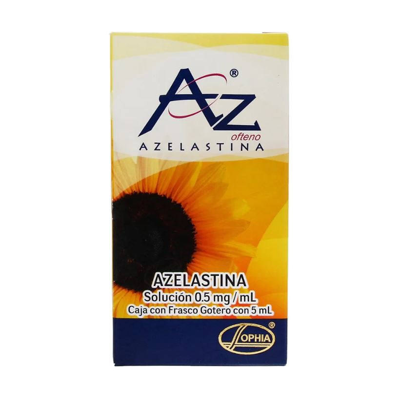 Az ofteno azelastina solución 0.5 mg/ml