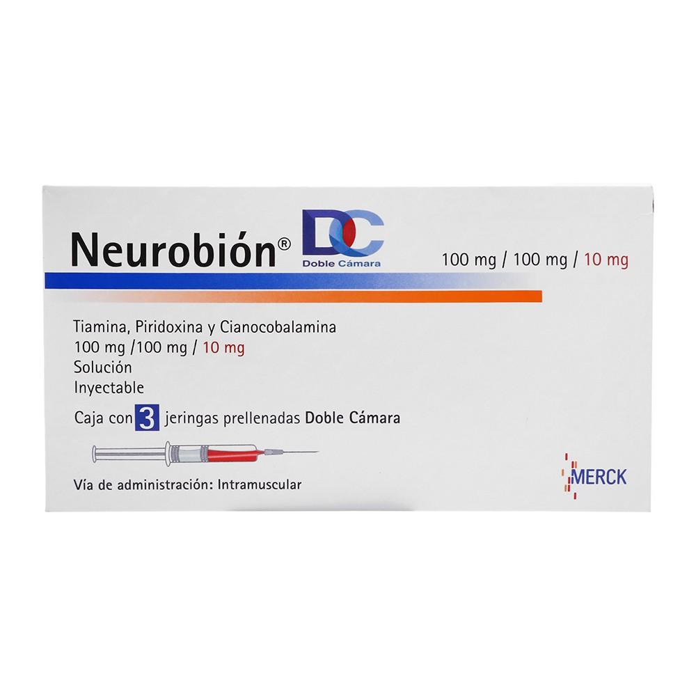 Solución inyectable Neurobión