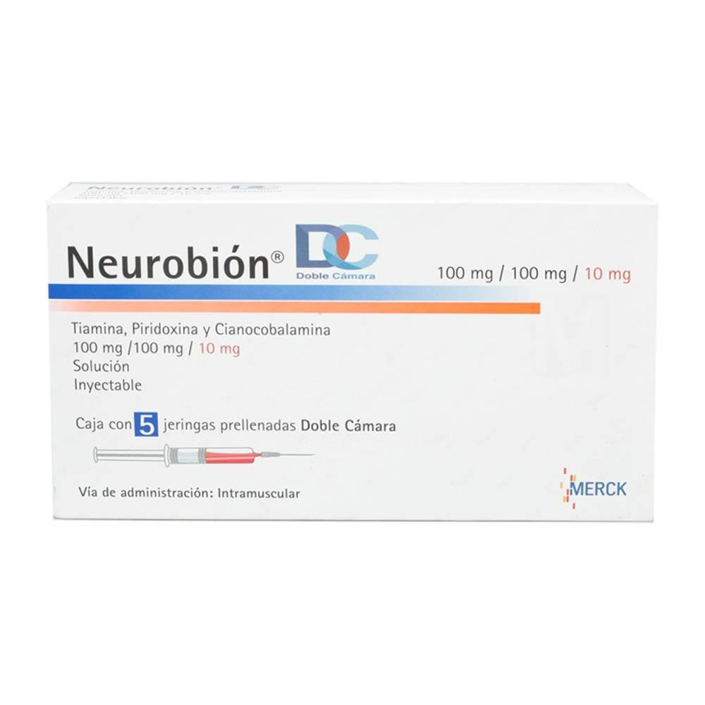 Neurobion Dc 100/100/10 mg