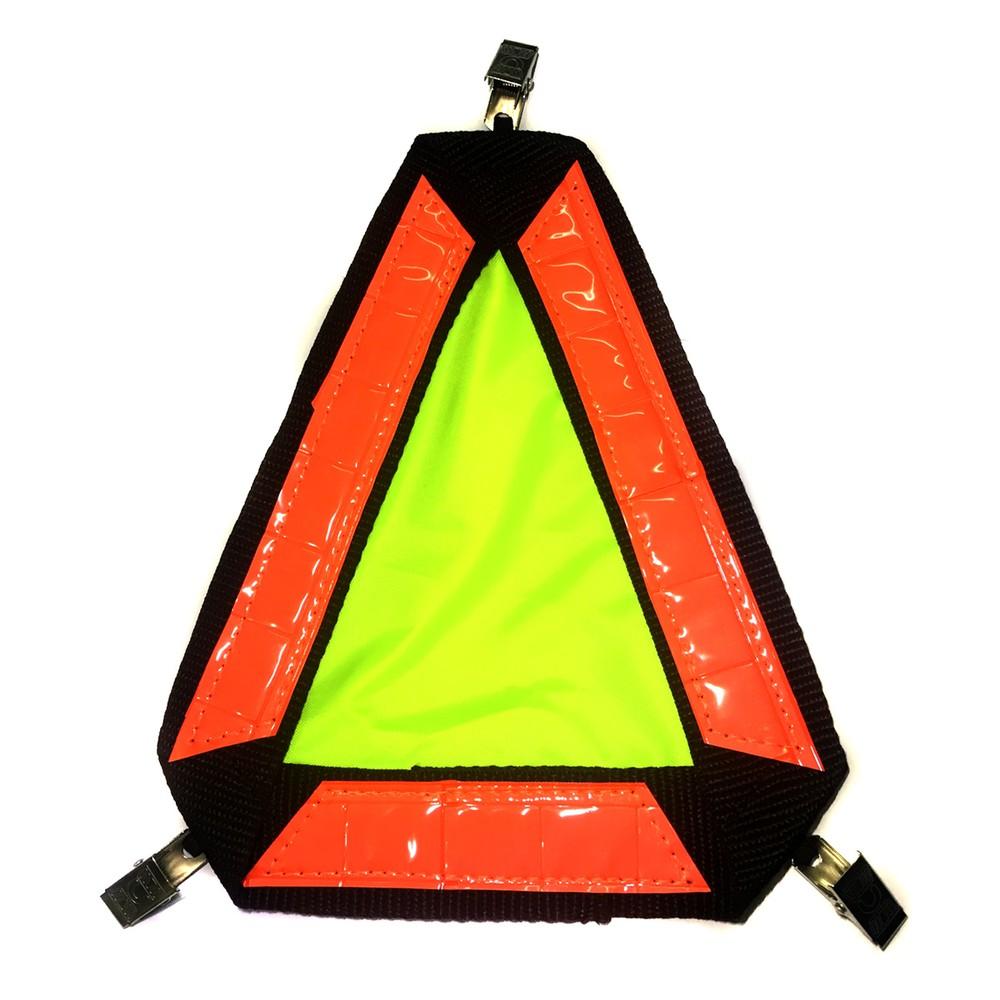 Triangulo reflectante de mochila / espalda