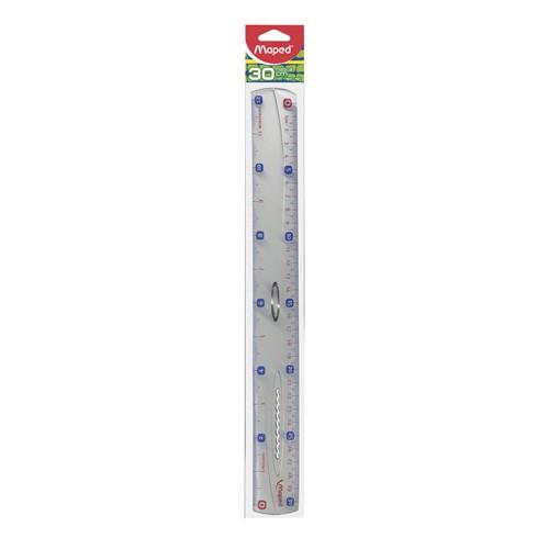 Regla de plástico de 30 cm