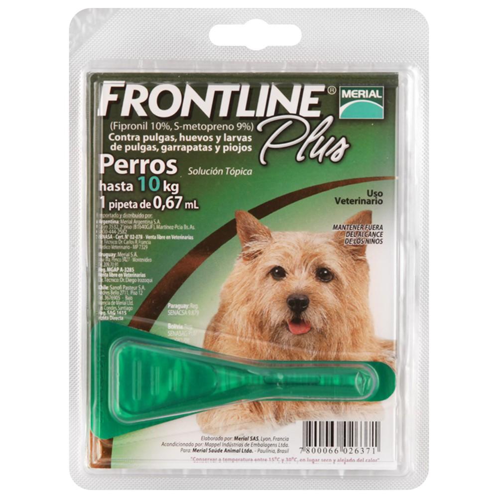 Antipulgas Frontline plus para perros