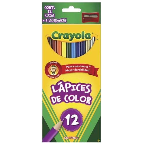 Lápices de colores con 12 piezas