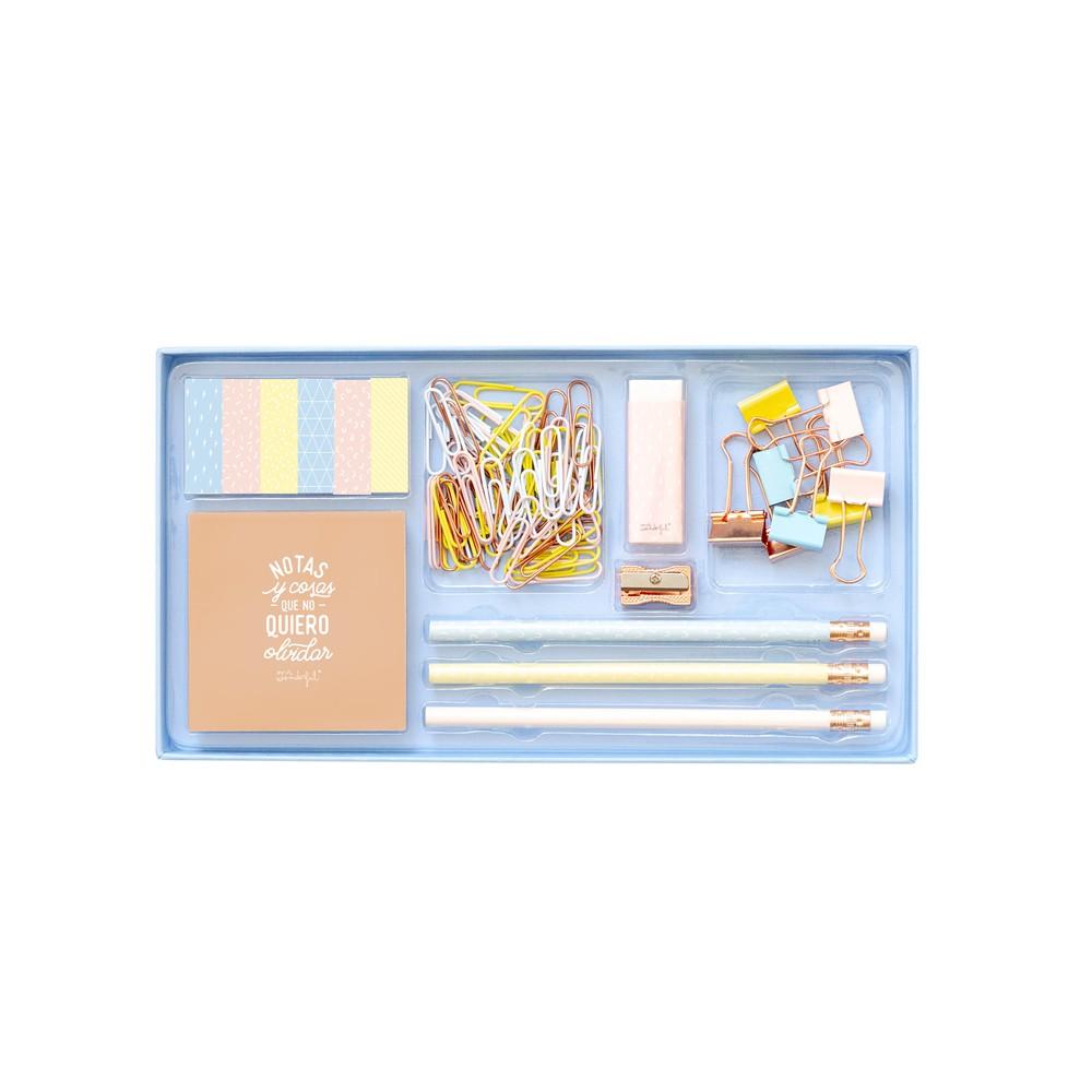 Set de escritorio con muchas bonituras Medidas: 24,7 x 11,6 x 2,5 cm