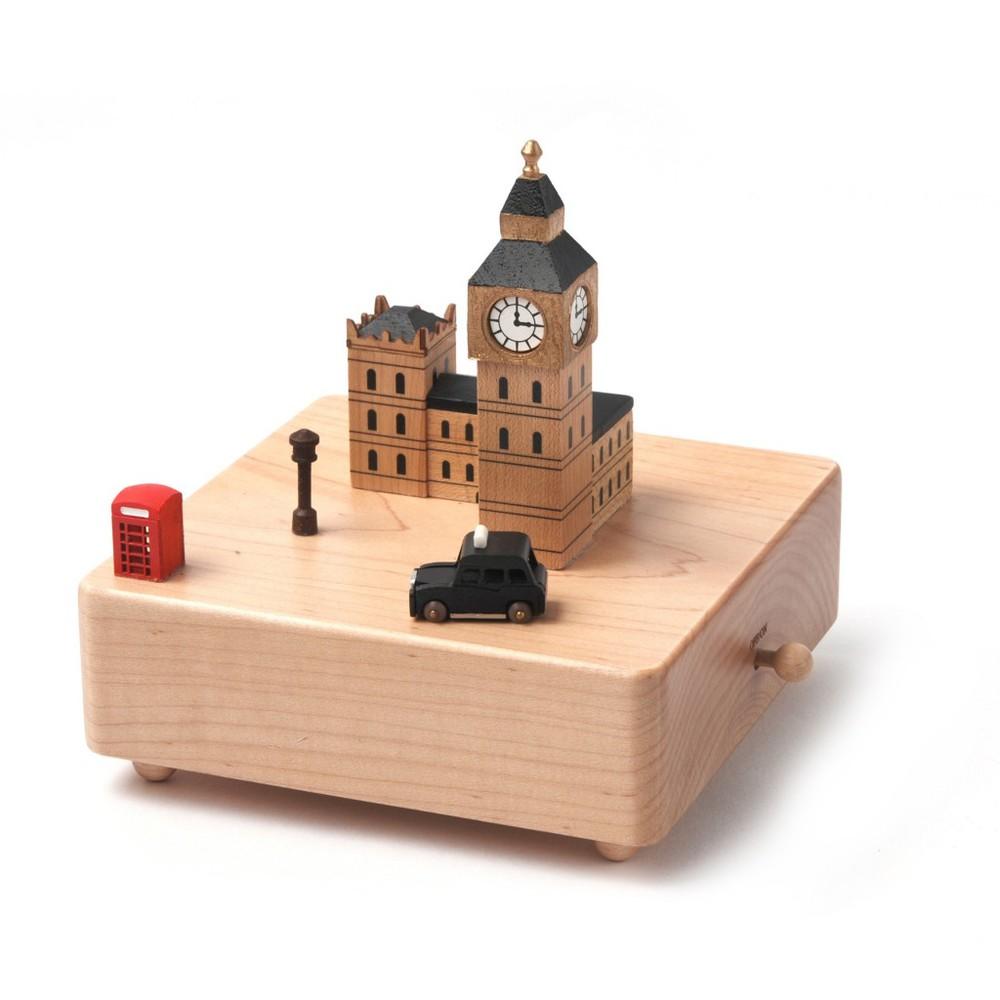 Caja musical madera regalo londres