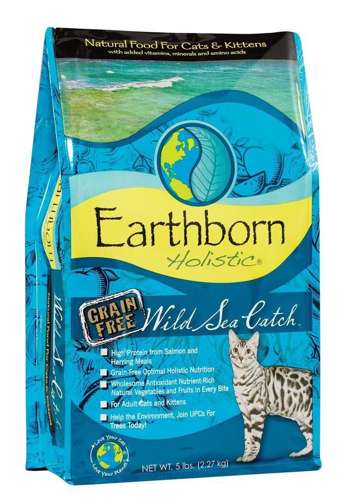 Holistic alimento para gato wild sea catch