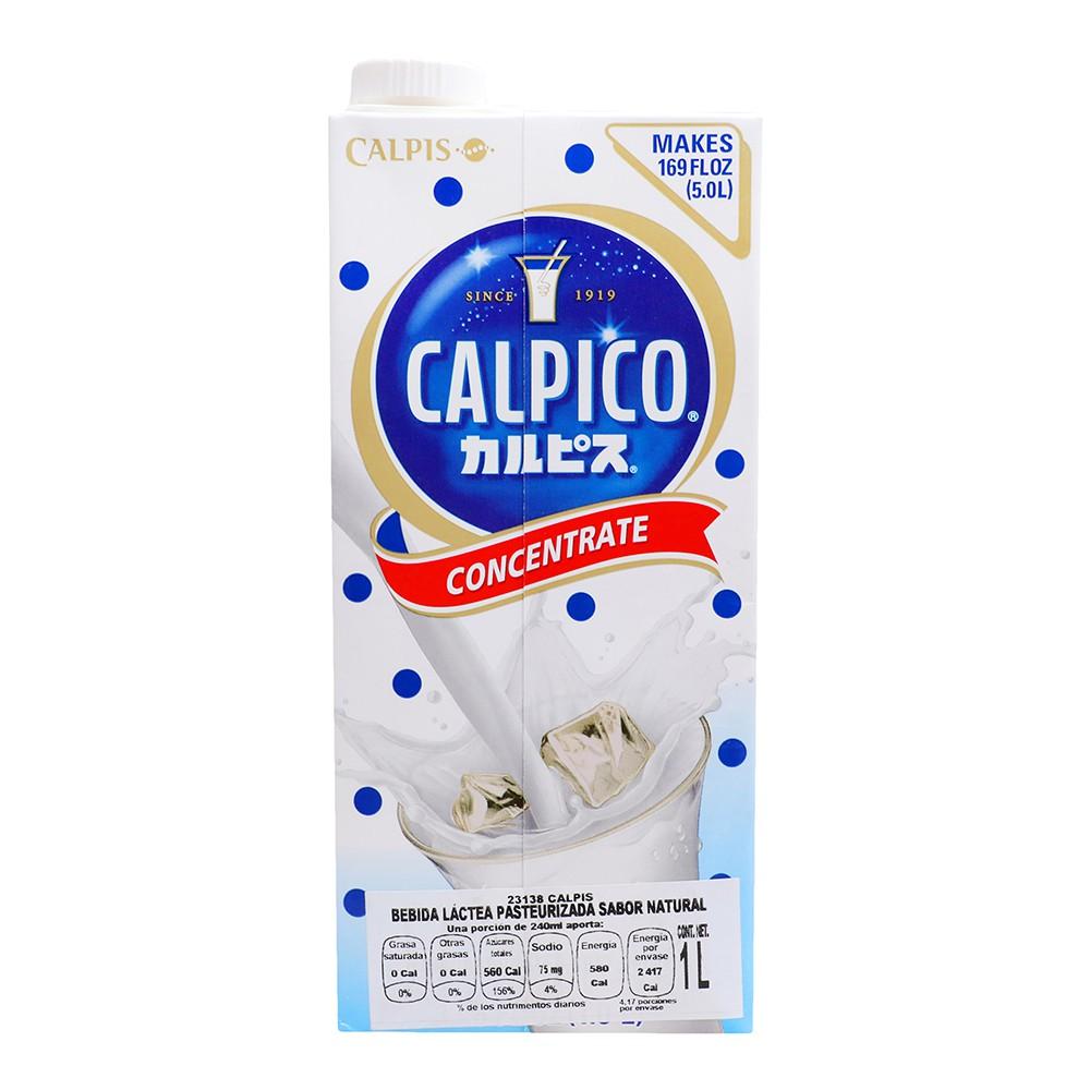 Calpico bebida láctea 1 l