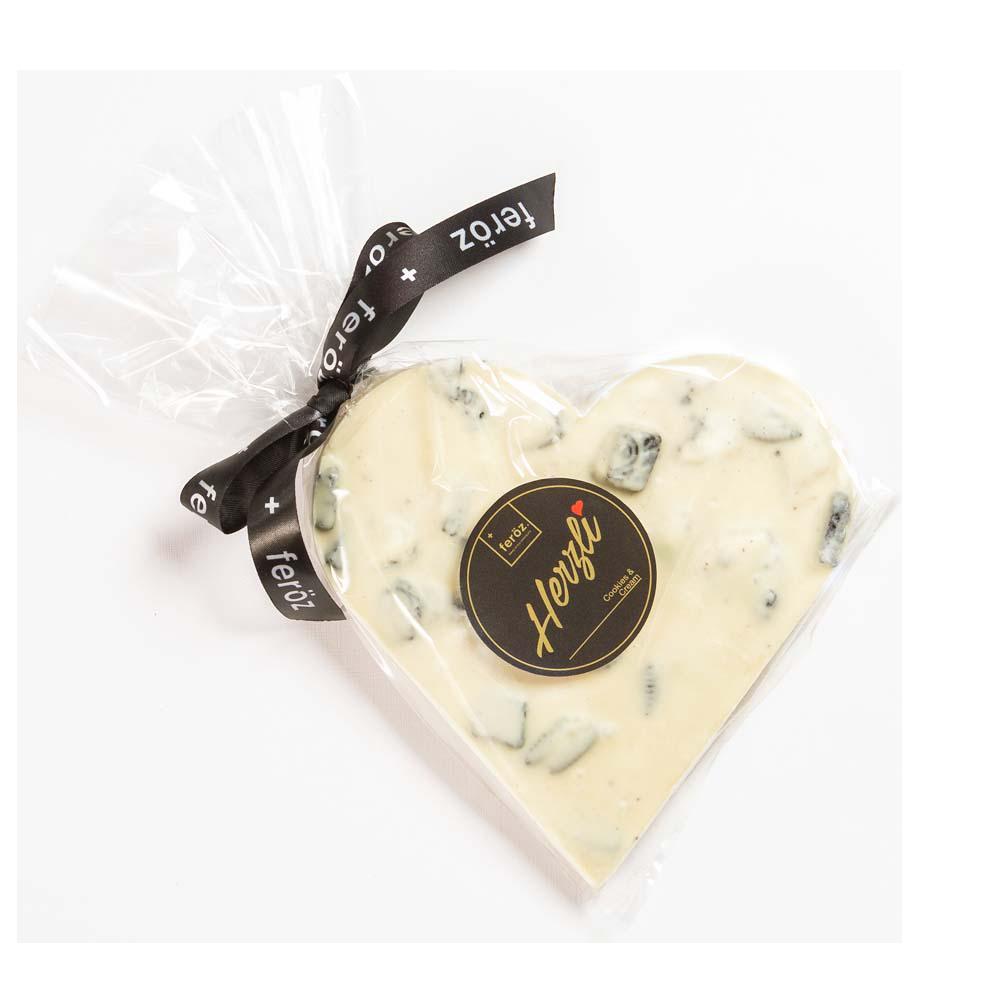 Corazón Cookies & Cream