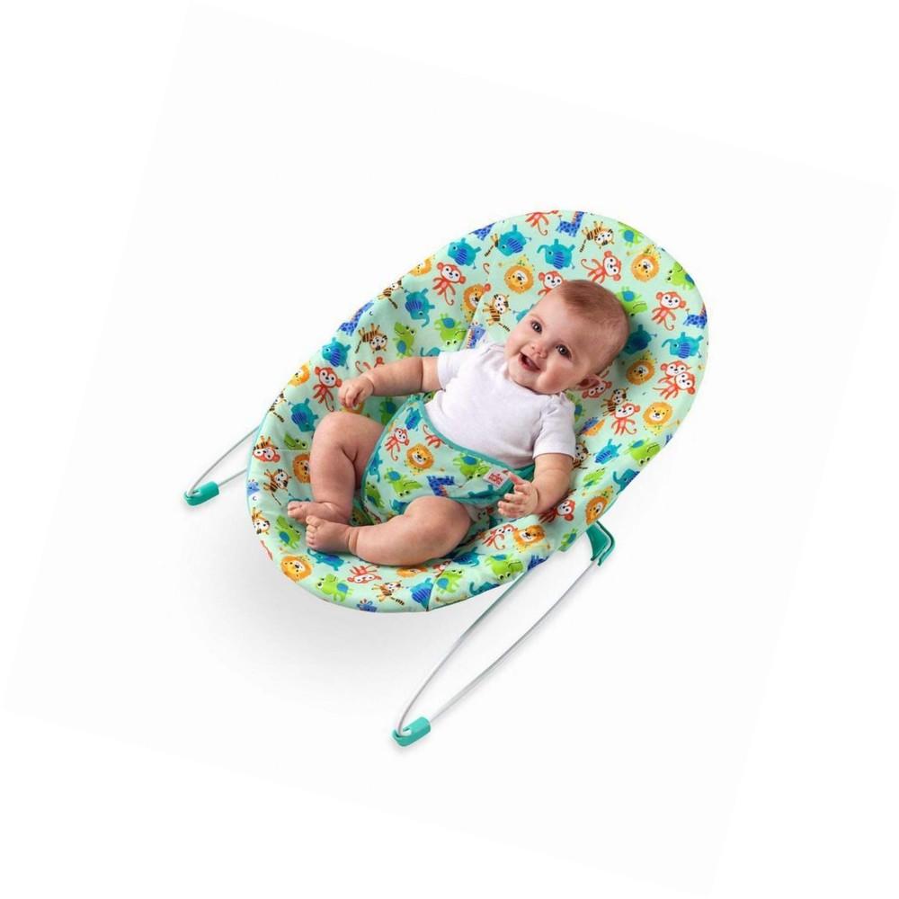 Silla de rebote para bebé safari bouncer