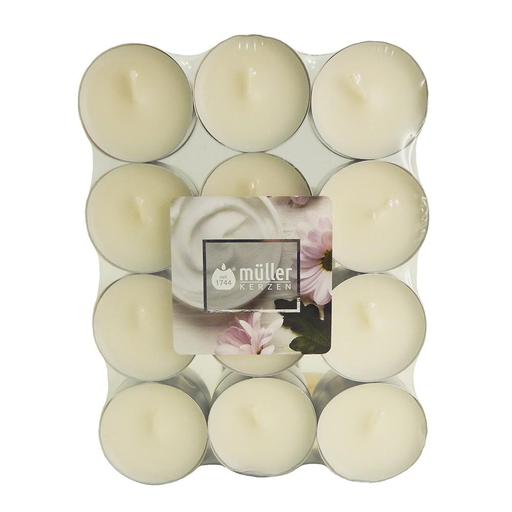 Tealight aromático (24) crema x24