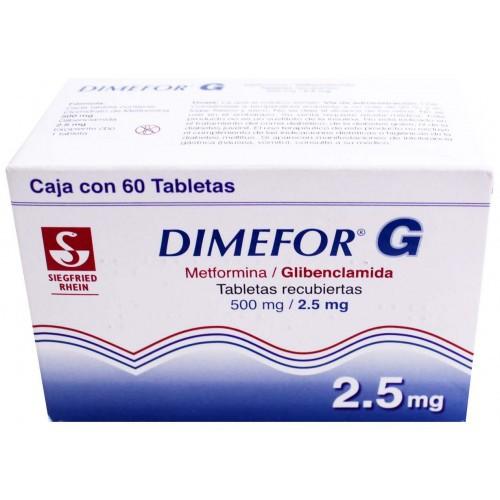 Dimefor-G 500 / 2.5 mg