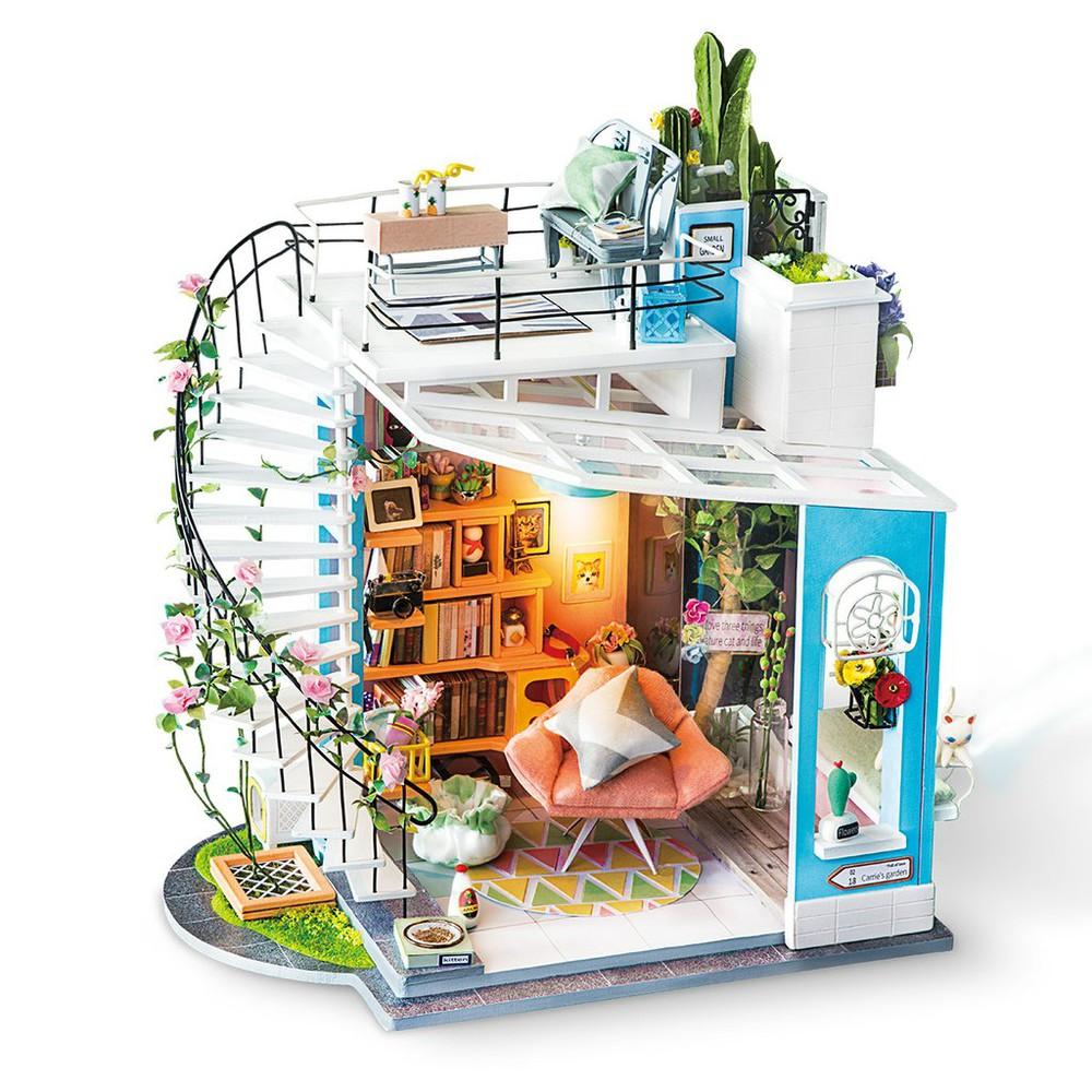 Puzle maqueta 3d diy Dora's Loft
