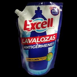 Lavaloza excell con desinfectante