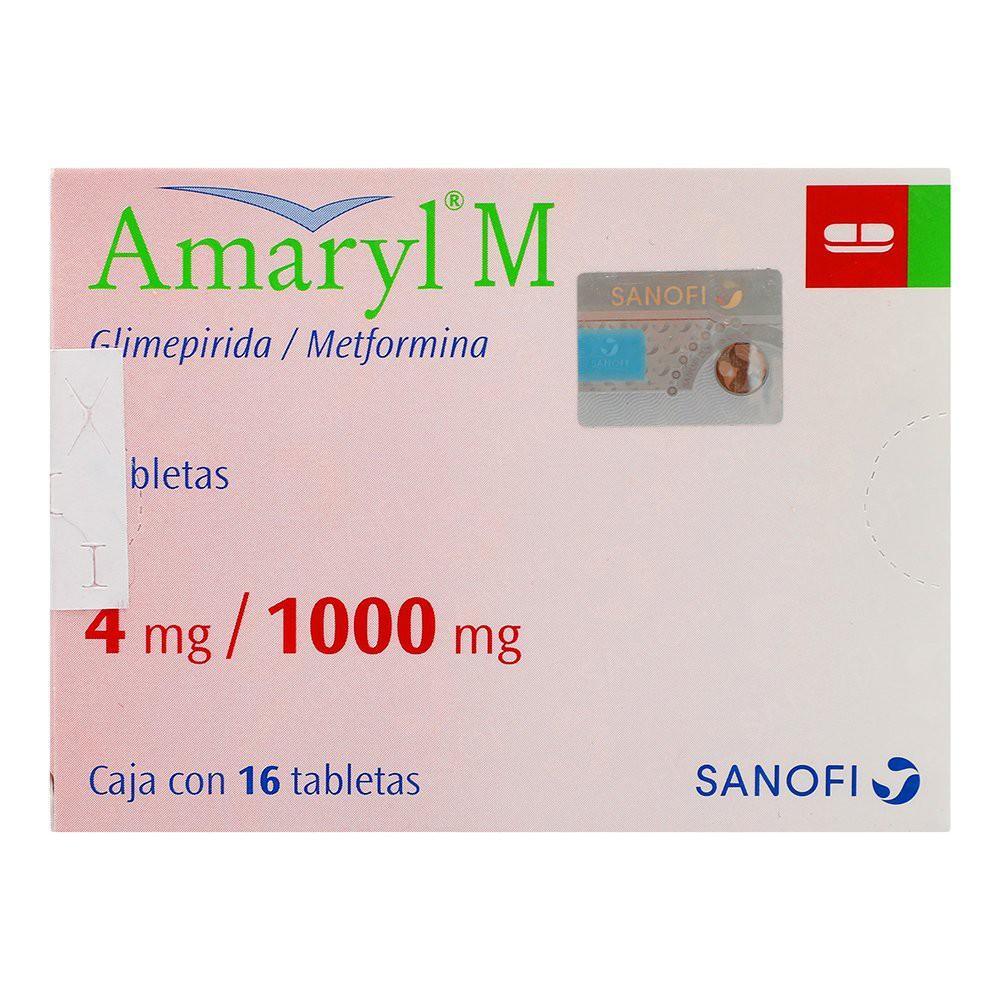 Amaryl M 4 mg