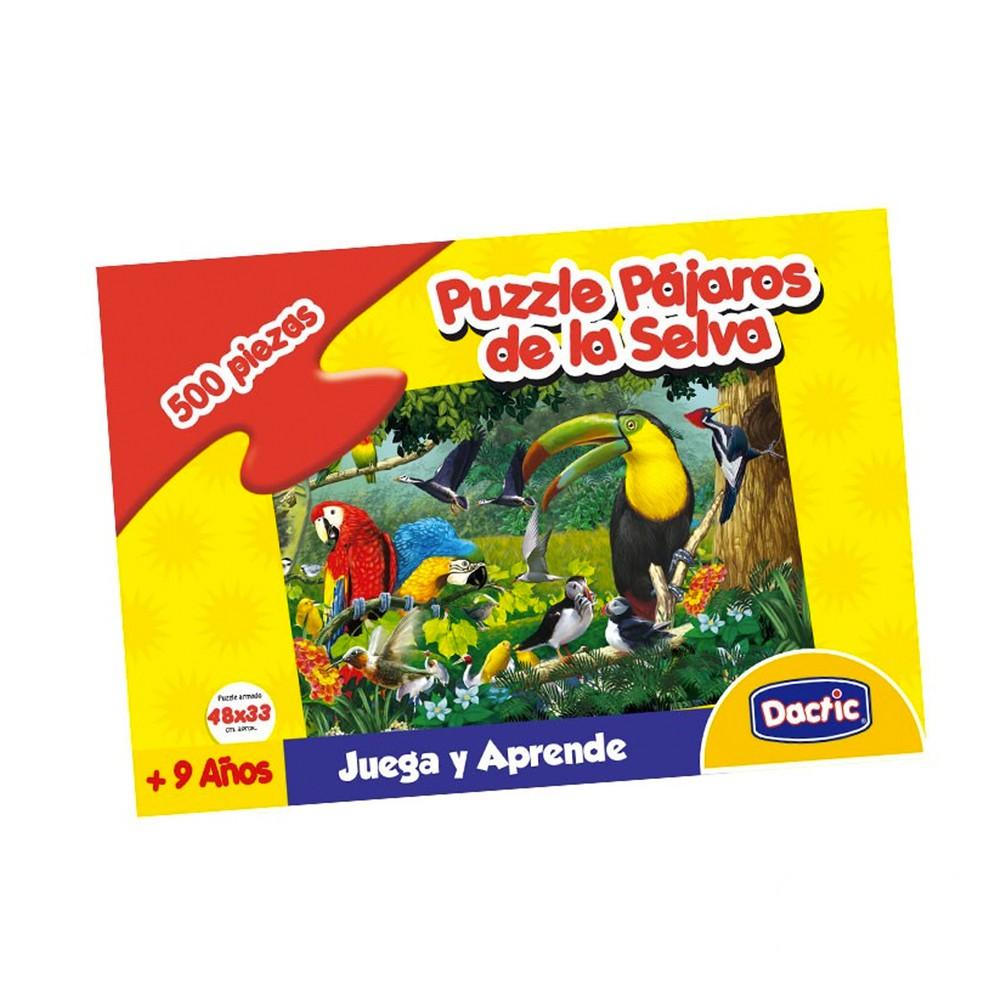 Puzzle pájaros de la selva