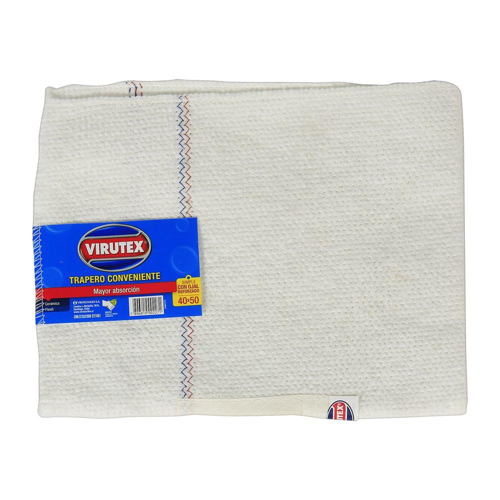 Trapero algodón x1 simple 40x50 cm