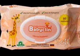 Toalla húmeda babyclin Soft