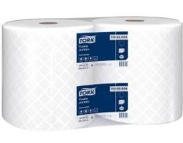 Toalla de papel jumbo 2 rollos x 250 m c/u