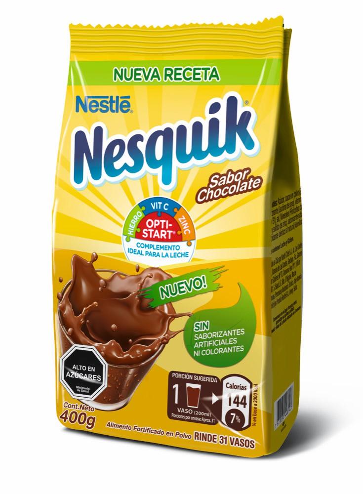 Saborizante Nesquik en polvo sabor chocolate