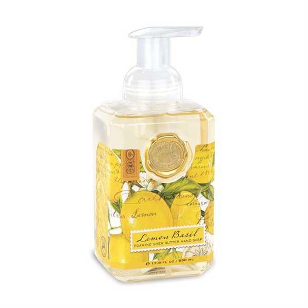 Jabón espuma lemon basil 530ml