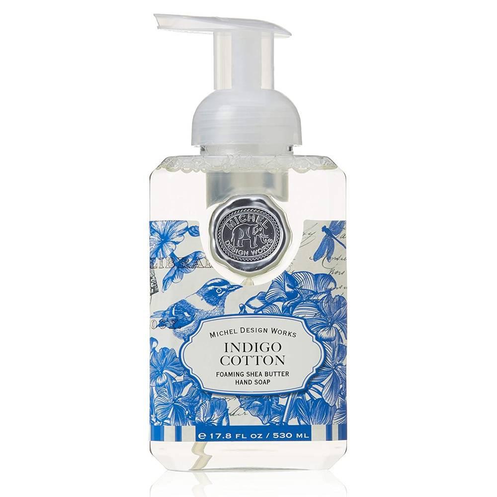 Jabón espuma indigo cotton 530 ml