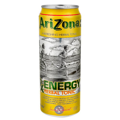 Arizona, Bebida Para Deportistas Energy Sabor Mango (Lata 680 ml)