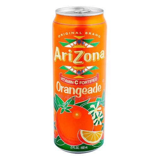 Arizona, Néctar Sabor Naranja (Lata 680 ml)
