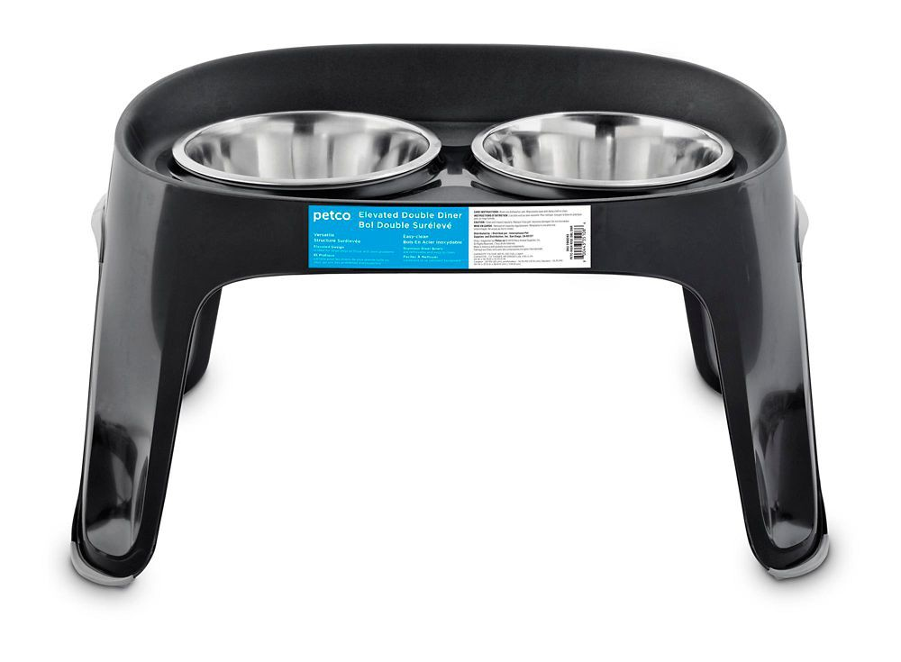 Petco High-Rise Double Diner Dog Bowls · Canadian Tire