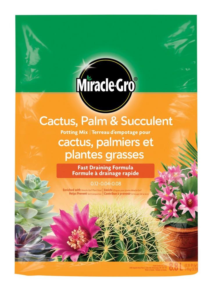 Cactus palm & succulent potting soil 8.8 L