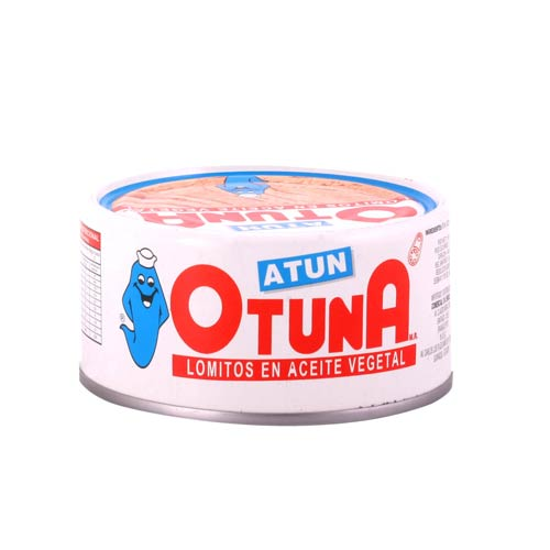 Lomitos de atún en aceite