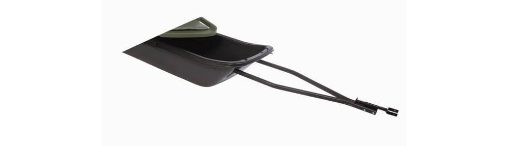 Ice fishing sled tow hitch