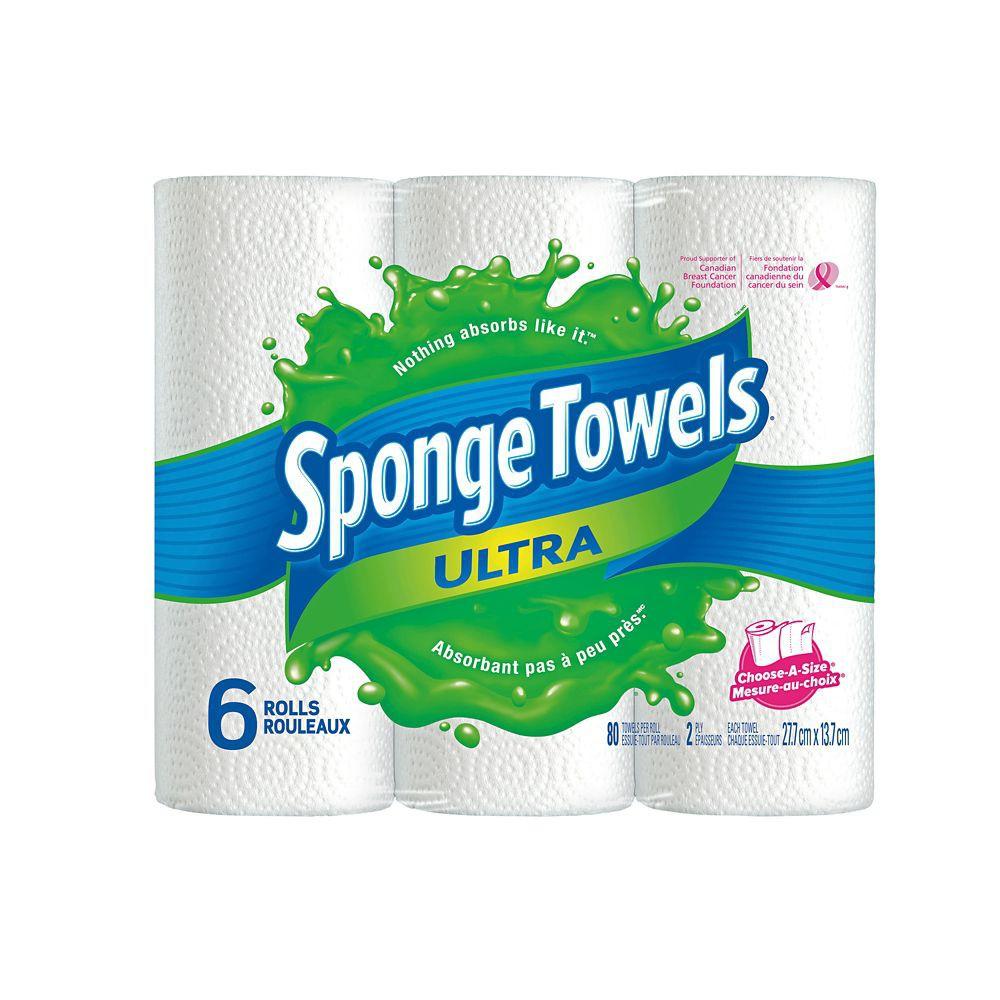 Ultra paper towels 6 rolls