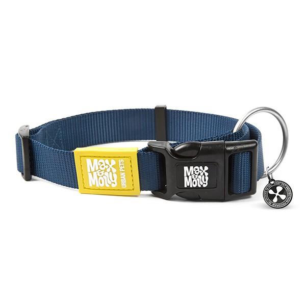 Collar con smart id pure midnight blue (S)