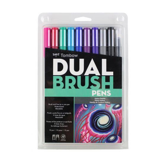 Set marcadores dual brush colores galaxy