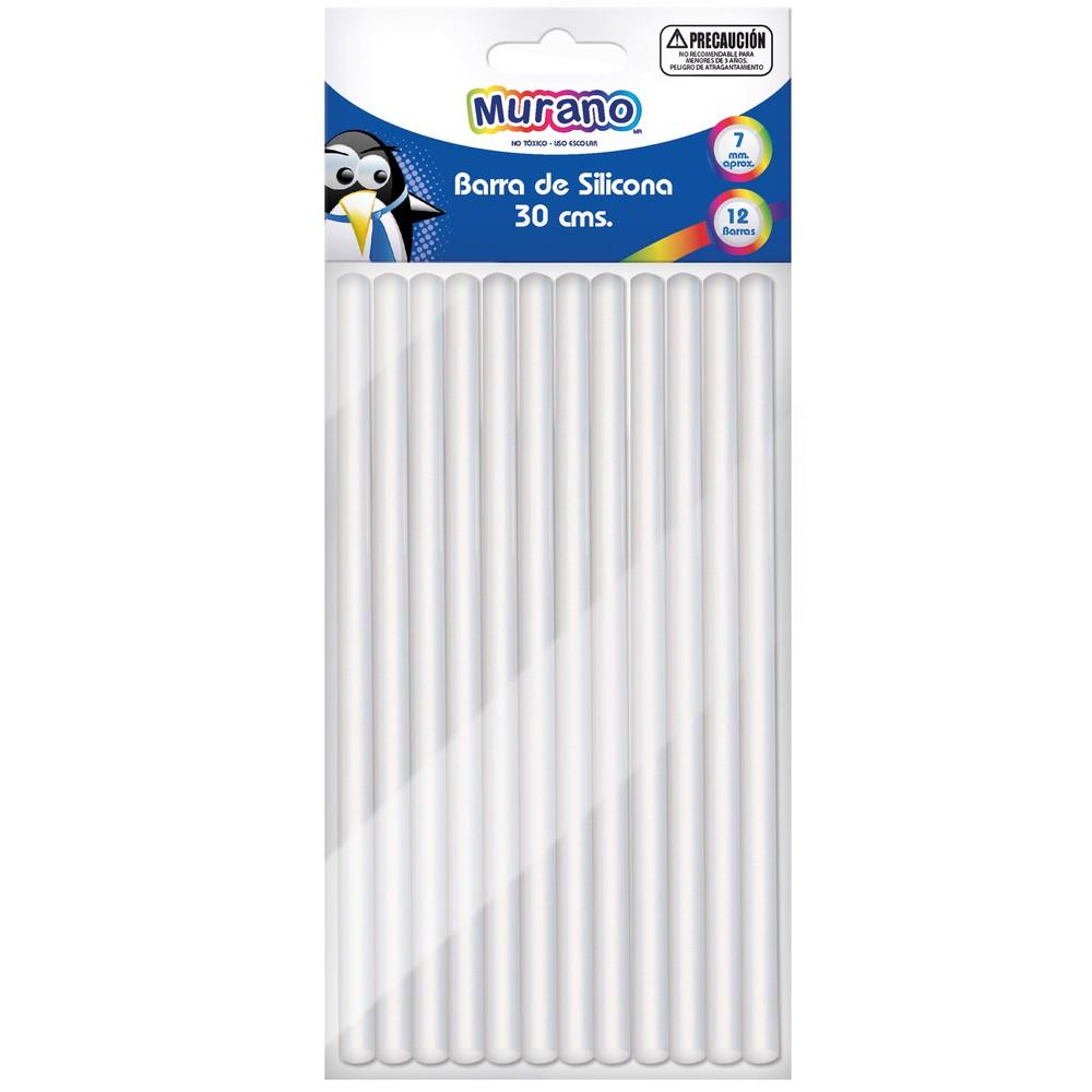 Adhesivo silicona en barra 12 unidades