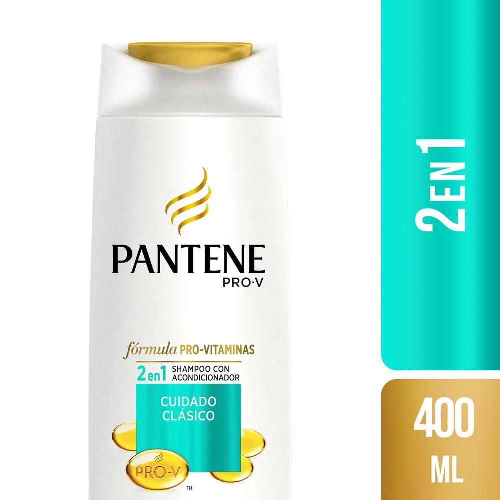 Shampoo 2 en 1 cuidado clásico Botella 400 ml