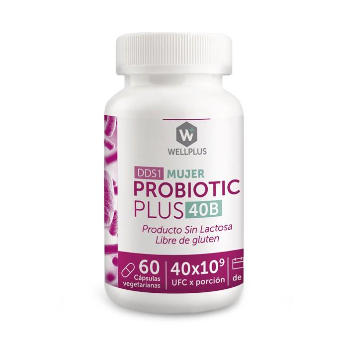 Probiótico mujer 40billones