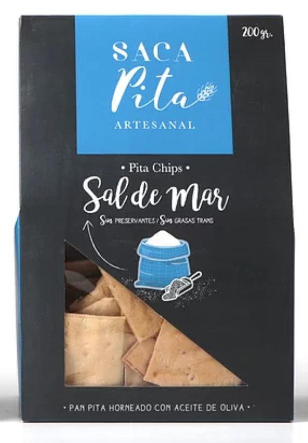 Pita Chips Sal de Mar 200g