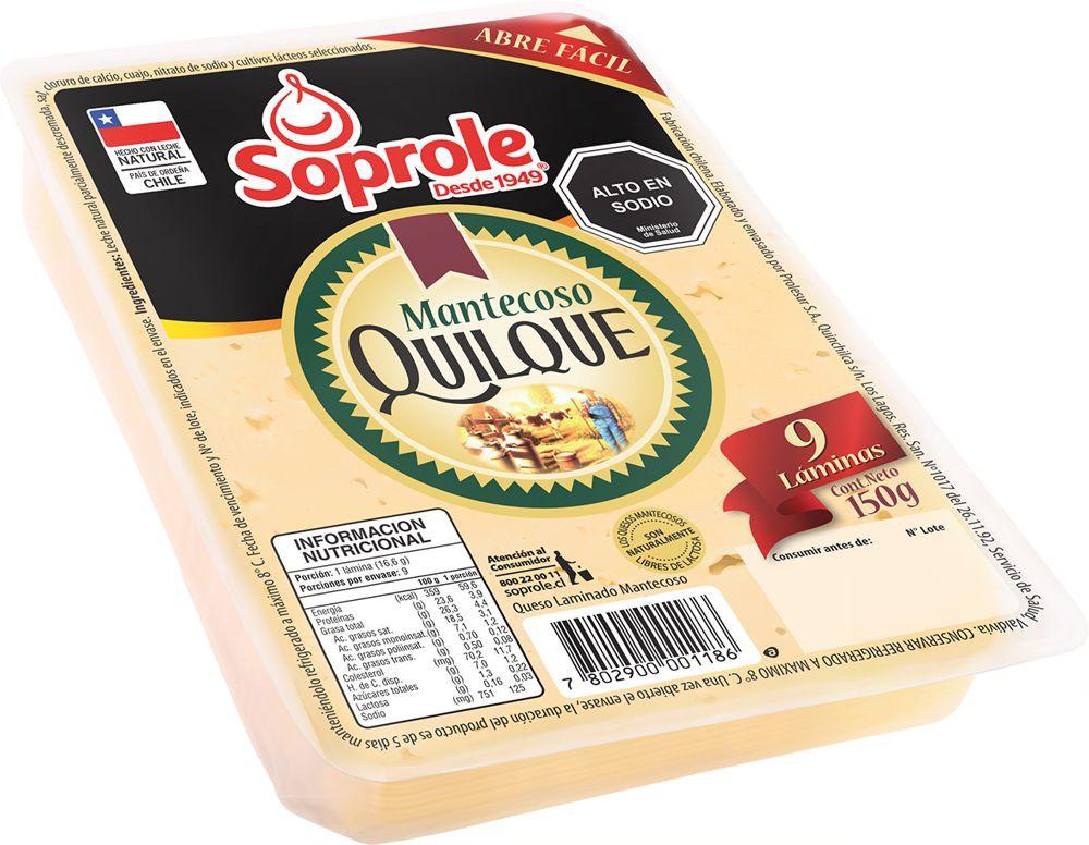 Queso mantecoso laminado Diplay 150 g